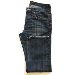 Banana Republic Straight Leg Dark Wash Jeans 33x30